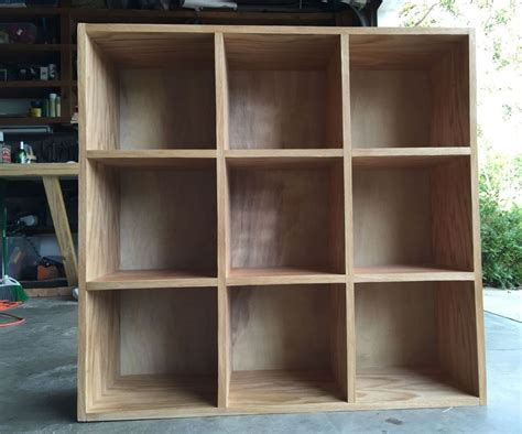 Bookcase Storage Cubby Unit   Woodworking Projects