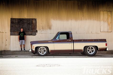 Custom Home Plans For Sale by 1979 Chevy C10 Low Faux Bonanza Rod Network