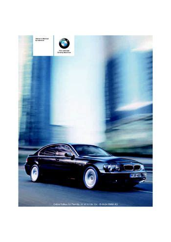 best auto repair manual 2005 bmw 7 series on board diagnostic system service manual car owners manuals free downloads 2005 bmw