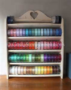 Ribbon Rack by Ribbon Storage Sarahrhodesdesigns