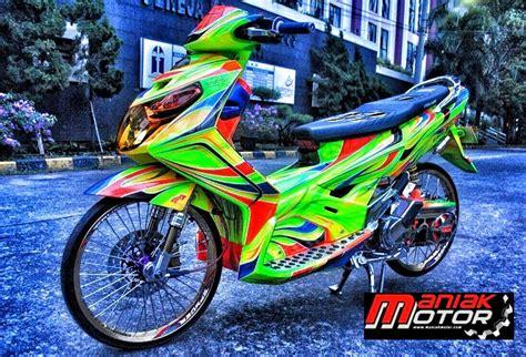 Duct Air Nouvonouvo Z modifikasi yamaha nouvo z tomo speed shop langganan juara juga loh portal sepeda motor dan