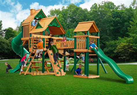 wooden swing sets on sale cedar swing set playset clearance sale