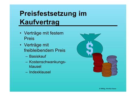Kaufvertrag Inhalt by Kaufvertrag
