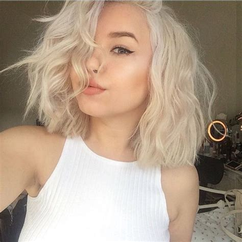 platinum blonde bob images gorgeous platinum blonde bob on claudiasroka look