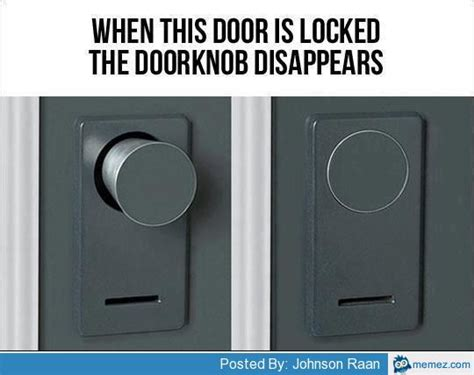 Who Invented The Door Lock by Cool Door Lock Invention Memes