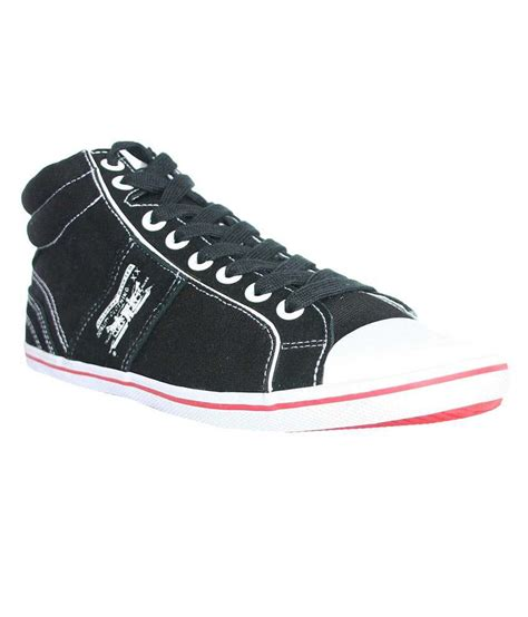 levis black shoes buy levis black casual shoes for snapdeal