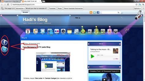 membuat logo twitter cara membuat logo twitter facebook pada blog