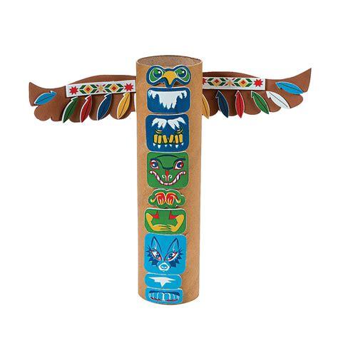 totem pole craft for dltk s crafts for totem pole craft models picture