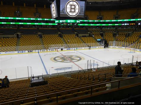 how many seats in the td garden td garden section 113 boston bruins rateyourseats