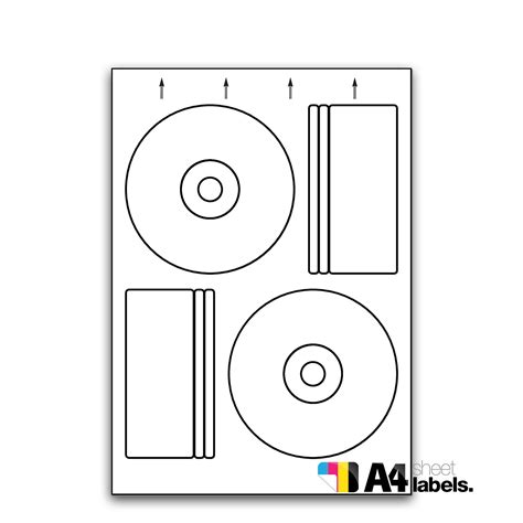 pressit label template sl2p press it compatible cd dvd labels 118mm a4 sheet labels