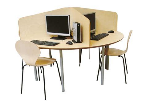 Library Computer Desk Library Computer Desk Library Computer Desk With Single Pedestal Wayfair Supply Hexagon