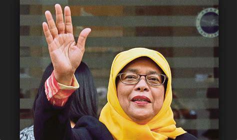 Biography Of Halimah Yacob   halimah yacob set to become singapore s first female