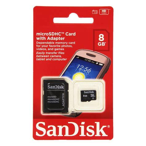 Micro Sd Sandisk 8 Gb sandisk microsdhc class 4 flash memory card 8gb سایمان