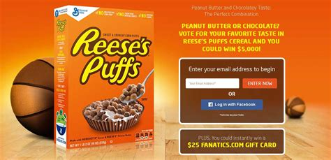 Instant Win Game Sweepstakes Official Rules - reese s puffs game day sweepstakes and instant win game