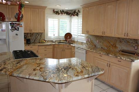stone kitchen backsplash plushemisphere pictures of granite backsplashes in kitchens mac s before