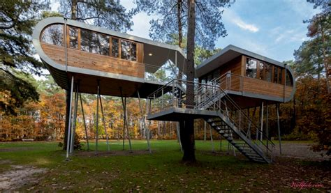 modern tree house http lomets