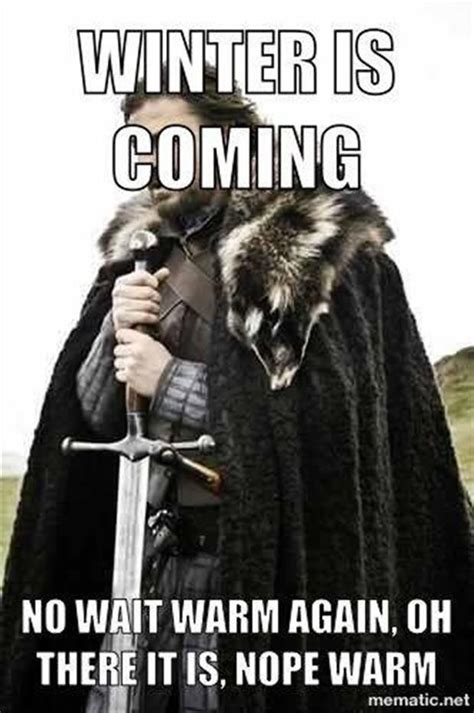 Meme Generator Game Of Thrones Winter Is Coming