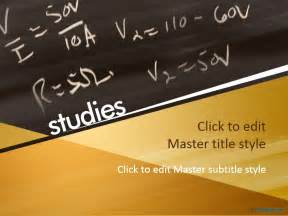 Powerpoint Templates Mathematics Free by Free Educational Chalkboard Ppt Template