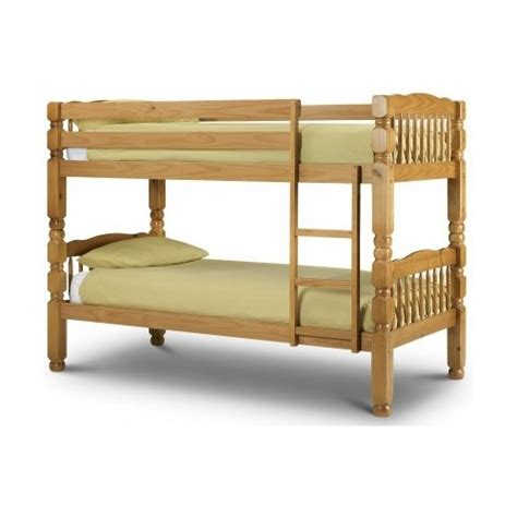 Chunk Pine Bunk Bed Frame Chunky Wooden Bed Frames