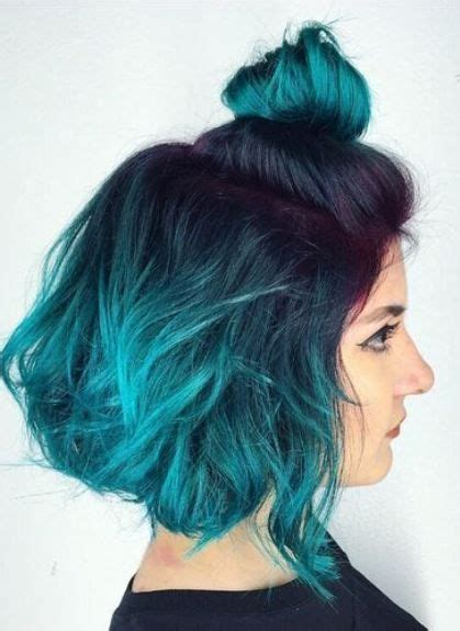 Blue And Hairstyles by 17 Best Ideas About Ombre Hair Color On