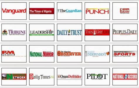 latest nigerian news nigerian newspapers online nigerian newspaper website and major blogs sites advert rates