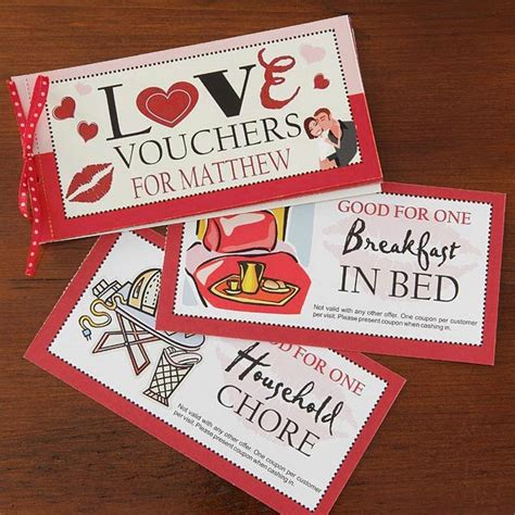 things to do on valentines day for him 101 coupons ideas for him and