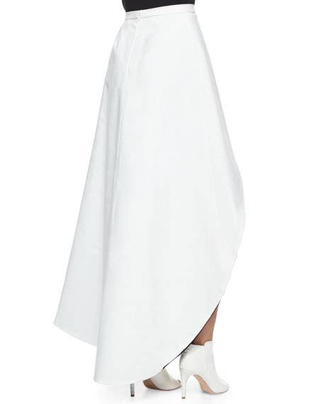 Hem Chaira chiara asymmetric two tone skirt