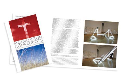 exhibition catalogue layout exhibition catalogue design tania gomes