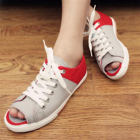 2013 open toe canvas shoes casual shoes s trend