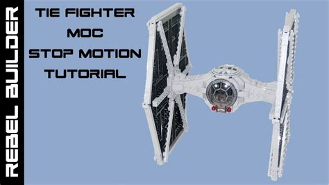 tutorial lego stop motion lego star wars tie fighter stop motion tutorial update