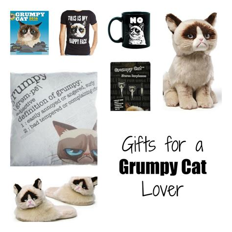 gifts for a grumpy cat lover