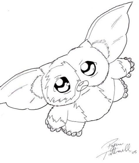 Gizmo Coloring Pages