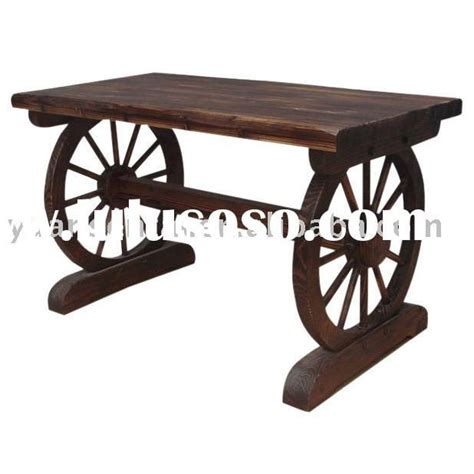 1000 ideas about wagon wheel table on wagon