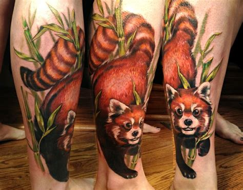 red panda tattoo best 25 panda ideas on kitsune