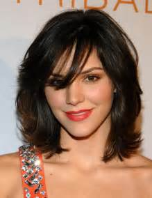medium length hairstyles for faces top 20 medium length hairstyles with bangs for faces