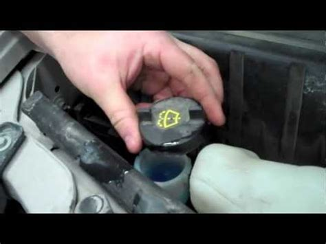 how to refill windshield wiper fluid youtube