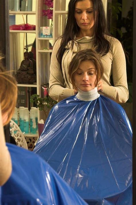 females in pvc getting haircuts 1000 bilder zu hairdreser women auf pinterest vinyl