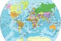 Mapas Y Fotos Del Mundo  Mapamundi Planisferio Continentes Pa&237ses