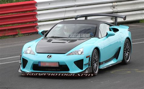 modified lexus caught modified lexus lfa tester laps the ring possible