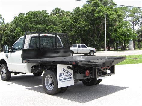 flat bed truck steel flatbed truck bodies mc ventures truck bodies your florida source for