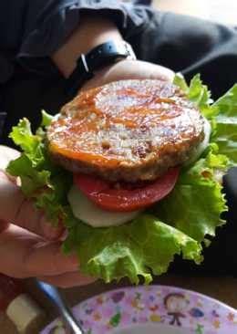 resep daging burger enak  sederhana cookpad