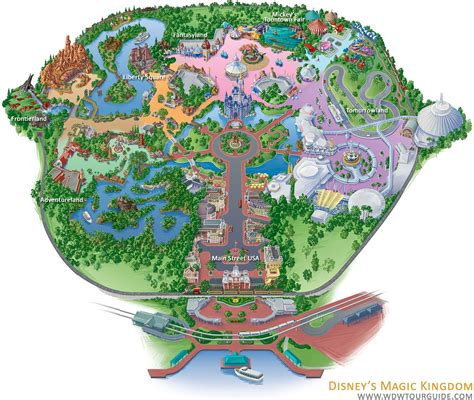 disney world magic kingdom map disney world 2011