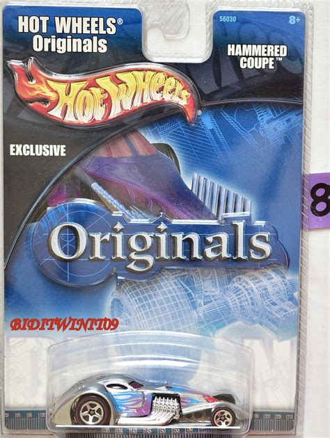 Hotwheels Wheels 33 Ford Lo Boy Delta Blues wheels originals 2001 hammered coupe redline wheels e 0000673 4 64 biditwinit09