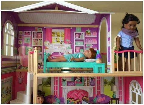 kidkraft american girl doll house    doll