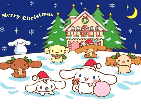 hello kitty christmas wallpaper free hello kitty merry christmas wallpaper wallpapersafari