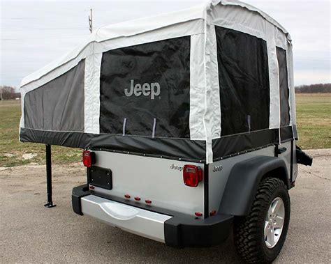 jeep trailer build jeep introduces campers built by livin lite rv cing