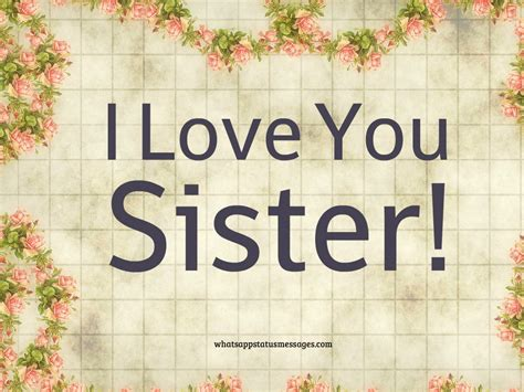 images of love you sister i love my sister quotes images and messages happy
