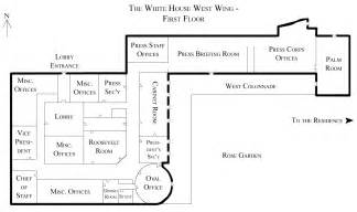 Floor Plan Of The White House by White House Floor Plan West Wing File White House West Wing