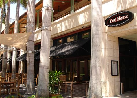 Coral Gables Merrick Park Locations Yard House Restaurant