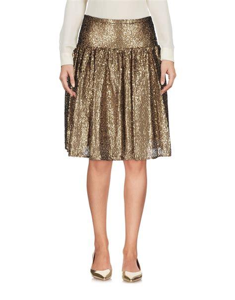 Hq 9301 Mesh Tutu Skirt With Belt Black michael michael kors knee length skirt in metallic lyst